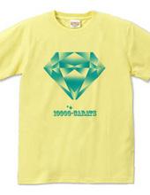 10000カラットのブルーダイヤモンド