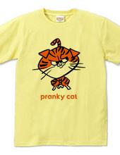 いたずら好きな猫