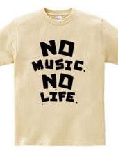 NO MUSIC, NO LIFE. ノーミュージックノーライフ ロゴ