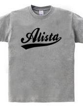 Alista ストリート スポーツベースボール ロゴ