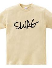SWAG スワッグ ヒップホップストリートロゴ