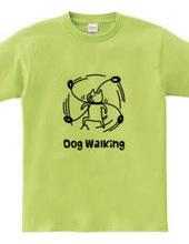 愛犬との散歩前