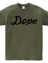 DOPE ドープ ヒップホップ ストリートロゴ
