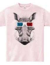 イボイノシシ3Dメガネ