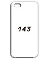143 [i love you ] ボックスロゴ