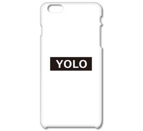 YOLO 「人生を最大限に楽しもうじゃないか」ボックスロゴデザイン