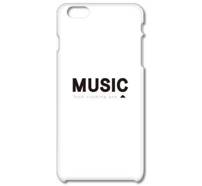 衣食音[food,clothing and music] ボックスロゴ