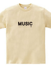 [food, clothing and music]box logo
