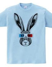 野ウサギ3Dメガネ