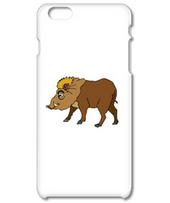 Illustration of a wild boar