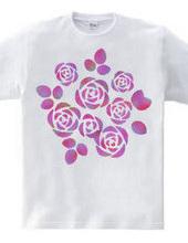 バラの花束―ピンク
