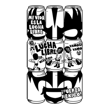 CANNED LUCHA dos.mono