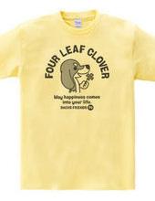 DACHS FRIENDS-four leaf clover ~ (1)