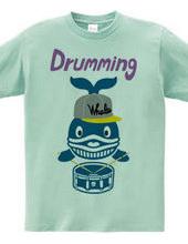 Whale drummer # 2