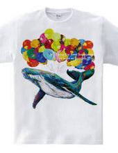 Hope whale T shirts