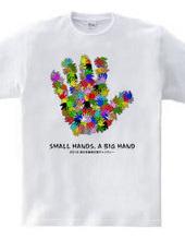 Small hands, a big hands