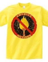 アメリカ火気厳禁(劣化)