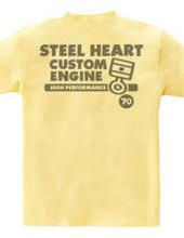 STEEL HEART デフォルメ ピストンリング