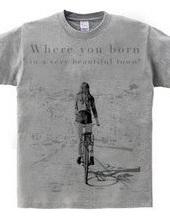 Bike walk women