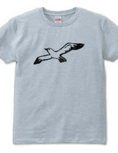 カモメTシャツ