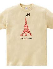 東京タワー/赤