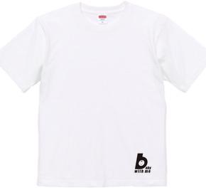 マタニティTシャツ Baby with me 黒
