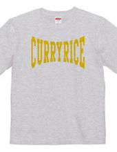 カレーライス カレッジロゴ Tシャツ