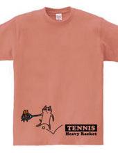テニス 重いネコラケット
