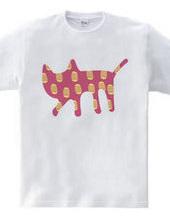 ネコに小判 ピンク