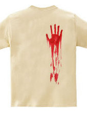 呪いの血の手