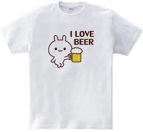 I LOVE BEER~ウサギとビール~