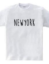 ニューヨーク シンプルロゴ アメリカUSA