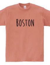 ボストン シンプルロゴ アメリカUSA