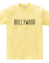 ハリウッド シンプルロゴ アメリカUSA