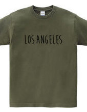 ロスアンゼルス シンプルロゴ アメリカUSA