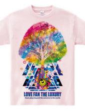 LOVE FAN THE LUXURY