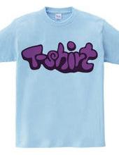 Tシャツという文字
