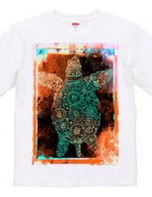 宇宙 亀Tシャツ