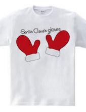 サンタクロースの手袋