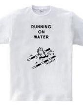 水泳 水面を走る