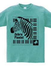 Zebra Pianist