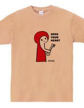 Open your Heart. 心のドアを開ける鍵