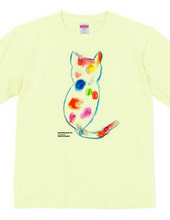 Rainbow color Cat