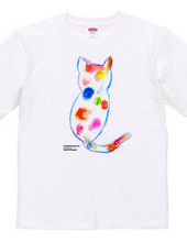 Rainbow color Cat