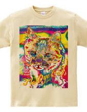 Tie Dye Cat