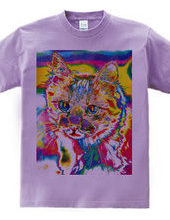 Tie Dye Cat - Not Words -