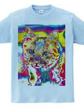 Tie Dye Cat - Not Words -