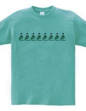 カラーインクの瓶(エメラルドグリーン)