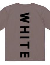 黒色なのにホワイト