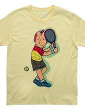 Tennis Player Boy